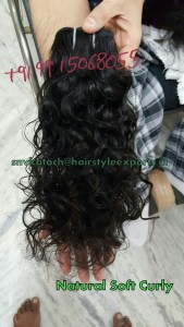 Natural soft curly