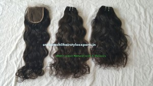 Water Wave Natural weft  & Closures