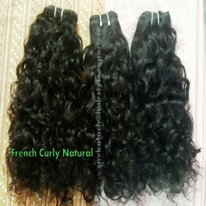 French Curly Natural